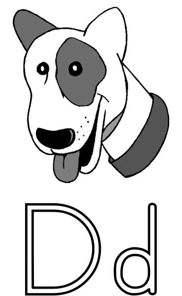 Dog Coloring Page