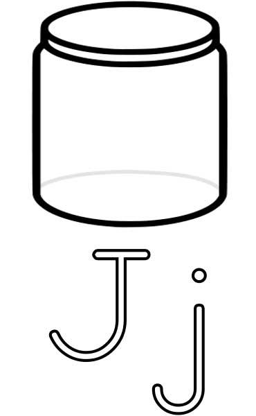 Jar Coloring Sheet Print Coloring Pages