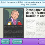 Learn about newspaper writing